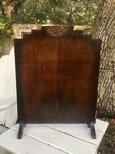 Antique Art Nouveau Wooden Fireplace Screen/Heat Screen