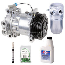 New AC Compressor & Clutch With Complete A/C Repair Kit For Chevy GMC Truck SUV