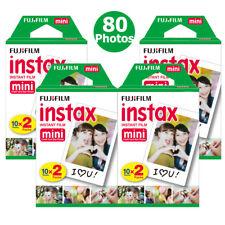 For Fujifilm Instax Mini 7s 8 9 70 90 Camera Fuji Instant 80 Film Photo Sheets