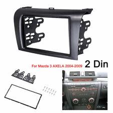 2 Din Car Radio Stereo Fascia Panel Plate Frame Kit For Mazda 3 AXELA 2004-2009