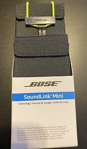 Bose SoundLink Mini I II 1 2 Bluetooth Speaker Travel Bag Gray NEW