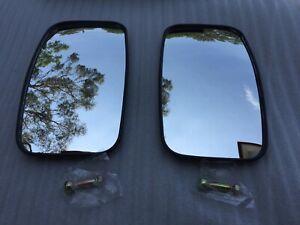 1 Pair Manual Side Wing Mirrors  for Isuzu KS-NPR Series Hino Nissan Bus Truck
