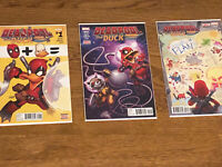 Deadpool the Duck Set of #1, #2, #3- Marvel Comics (2017)