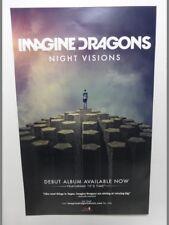 IMAGINE DRAGONS Night Visions 14X22 POSTER RARE PROMO