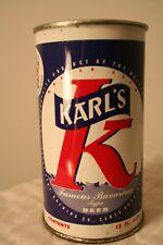 Karl's Famous Bavarian Beer 12 oz. 1950's flat top from Santa Rosa, California