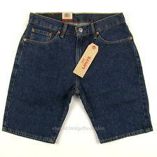 Levis 505 Shorts Mens DARK STONEWASH Size 30 Sits At Waist Straight Leg Levi's