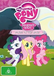 MY LITTLE PONY Friendship Is Magic: Ponies On The Move Season 3 Vol 2 DVD NEW R4