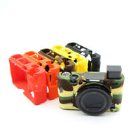 Silicone Camera Protector Case Body Cover Bag Skin For Sony RX100 III IV V Ⅵ Ⅶ