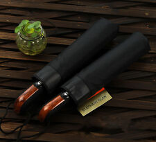 Automatic Open&Close Men Umbrella Windproof Umbrella Big Black Folding Umbrellas
