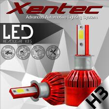 H3 900W 135000LM Car LED Headlight Bulbs Conversion Cree COB kit 6500K White Hot