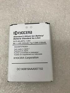 SCP-60LBPS NEW Genuine Battery Kyocera Brigadier E6782 DuraForce E6560