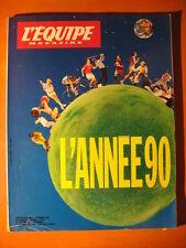 L'équipe magazine-L'année 1990-No 478 du 15/12/1990
