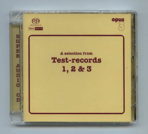 "Opus Records ""A Selection from Test-Records Vol.1 2 3"" Opus3 SACD CD New Sealed"