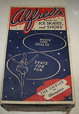 Vintage Alfred Johnson ChicagoMen's Ice Skates with Orig Box Size 10