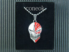 8017 Bleach Ichigo Hollow Mask Metal Necklace Pendant Cosplay anime