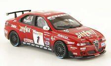 ALFA ROMEO 156 GTA #1 TARQUINI TWEM 2004 FIA 1/43 ROSSO FABBRI ROUGE ITALIA ROT
