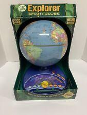 Quantum Leap Explorer Interactive Talking Globe Leapfrog Brand New In Box