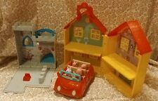 Peppa Pig Toy Lot *Car, House, Dragon Castle, 4 Characters*