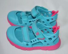 Stride Rite Made 2 Play Phibian Turquoise Toddler Girls Sandal Size 11 M