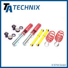 TA TECHNIX High-Quality Gewindefahrwerk + 2 Domlager - Opel Zafira A