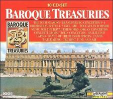 Various Artists : Baroque Treasuries 1-10 CD