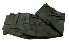 More details for ex police first tactical cargo trousers black security uniform patrol duty work