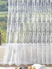 Gardine  Vorhang Höhe 175cm  breite 300cm  Store weiss