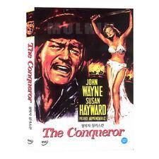 The Conqueror (1956) DVD - John Wayne, Susan Hayward (*New *Sealed *All Region)