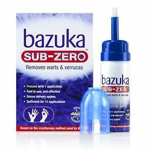 Bazuka Sub-Zero Home Use Freeze Treatment Verrucas & Warts Method Used