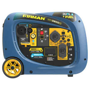 NEW Firman 2900W Running / 3200W Peak Electric Start Dual Fuel Powered Inverter