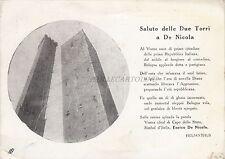 * BOLOGNA - Saluto delle Due Torri a De Nicola 1946 Consegna Medaglia d'oro