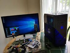 Gaming PC: Ryzen 7 1800X 3.8GHz/32GB RAM/960 PRO 512GB/2TB HDD/Radeon RX 580 8GB