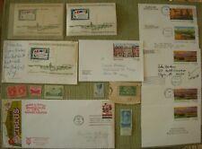 Lot Postcard US Sixth International Philatelic Gunston Hall Yellowstone Ephemera