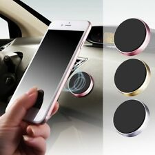 Luxury High Quality Metal Flat Stick Silver car Magnetic Mobile Phone Holder