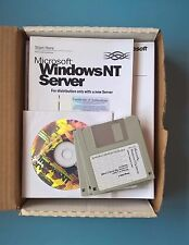 Microsoft Windows NT Server Version 4.0 Boxed 1-4 Processor Edition incl 10 CALs