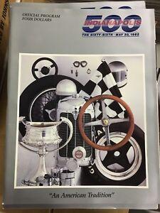 1982 Indianapolis 500 Program
