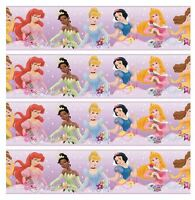 Disney Princess Edible Icing Continous Ribbon Cake Decoration