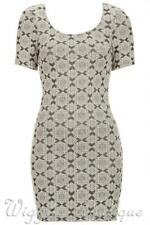 Topshop Scoop Neck Stretch, Bodycon Casual Dresses