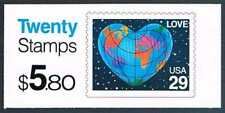 Etats Unis Sc  Bk188 Love Booklet