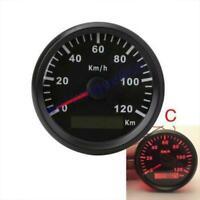 Auto Boot car GPS Tachometer Tacho Geschwindigkeitsmesser Sumlog Digital black