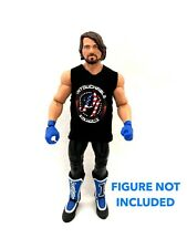 WWE AJ Styles 'Untouchable' Custom Shirt For Mattel Figures.