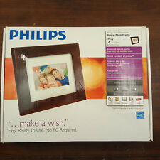 "Philips 7"" LCD Digital Photo Frame SPF3470T/G7 128 MB Display Home Essentials"