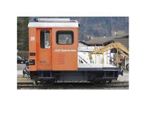 BEMO 1273131 -H0m-  Schmalspur-E-Rangier-Traktor Tm2/2 21 RhB orange Neu