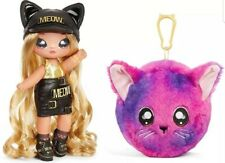 Na Na Na Surprise New Fall Series 3 Sasha Scratch 2 in 1 Fashion Doll Pom Purse