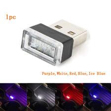 Flexible Mini USB LED Light Colorful Light Bulb For Car Atmosphere Lamp Bright