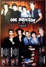 ONE DIRECTION Four Ltd Ed RARE Discontinued New Poster +FREE Rock/Pop Poster!