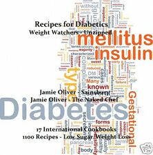 CD - RECIPES for DIABETICS & WEIGHT WATCHERS Collection Plus 15 eBooks - Resell