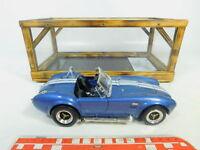 BP491-3# Road Tough 1:18 92058 Metall-PKW Shelby Cobra 427 S/C (1964), NEUW