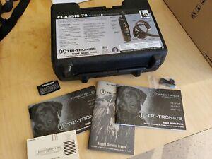 Tri-Tronics Sport Basic G3 EXP Dog Training System Case and Original Manuals