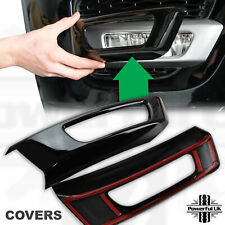 Gloss Black Front Bumper Spot Fog Lamp Surround Cover RANGEROVER Sport L494 Trim